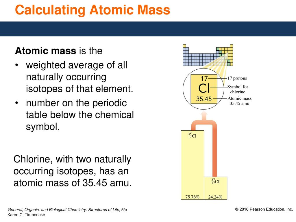 45 isotopes and atomic mass ppt download calculating atomic mass urtaz Images