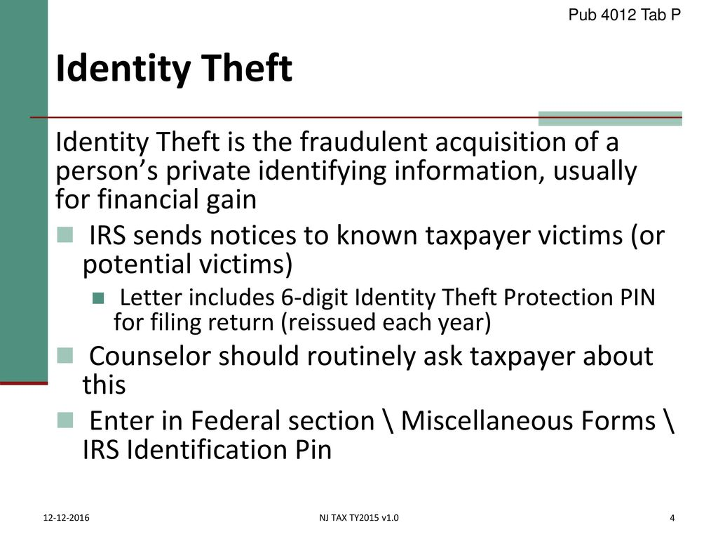 Concluding the interview ppt download 282018 pub 4012 tab p identity theft falaconquin