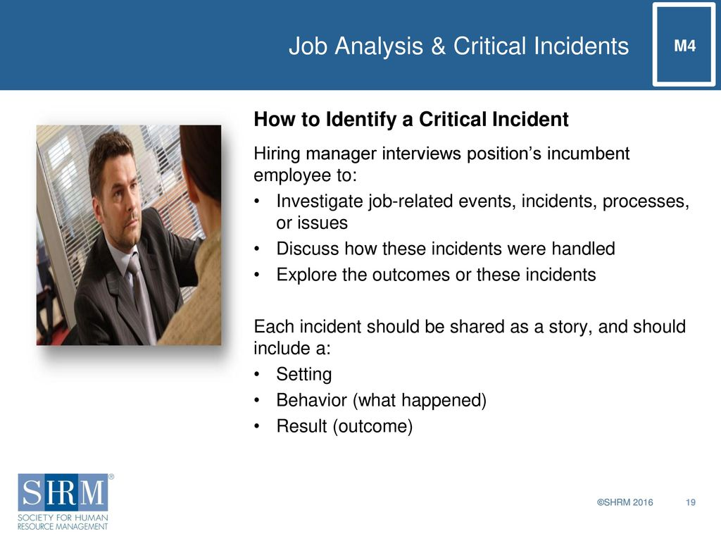 critical incident analysis of a clinical setting A laboratory critical incident  data collection and analysis  made available via the internet have facilitated the expansion of incident recording in clinical.