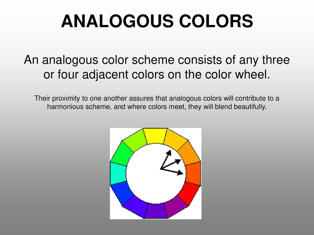 The Name Of A Color As It Appears On Wheel