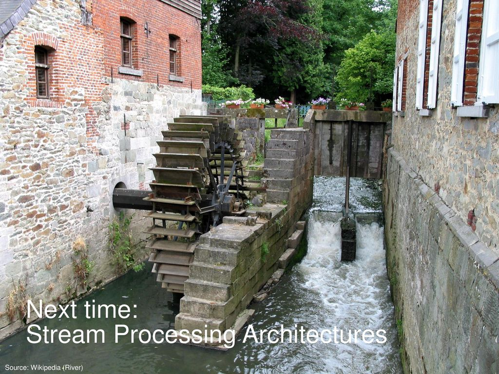 Stream Processing Architectures