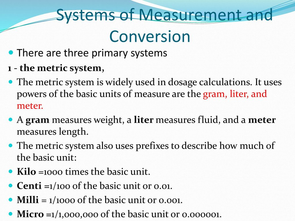 Calculation of doses ppt download systems of measurement and conversion nvjuhfo Gallery
