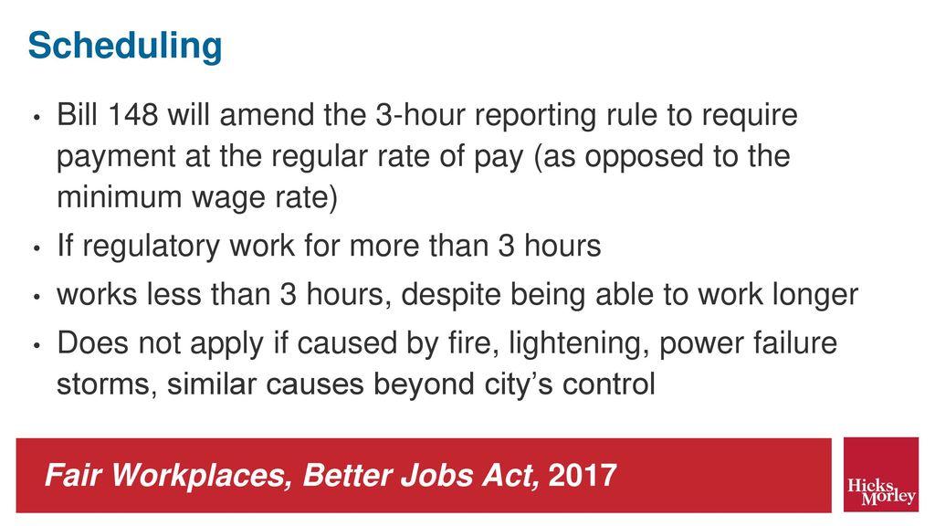 wage bill 2017