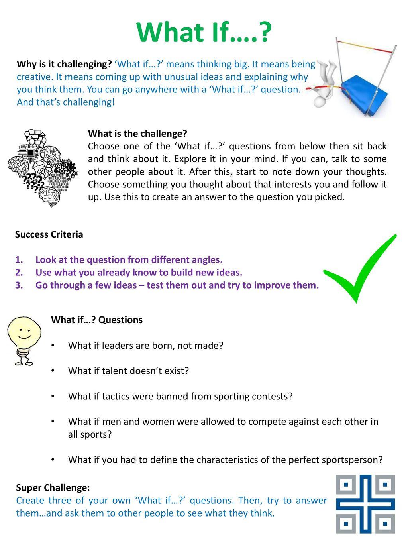 talent test questions