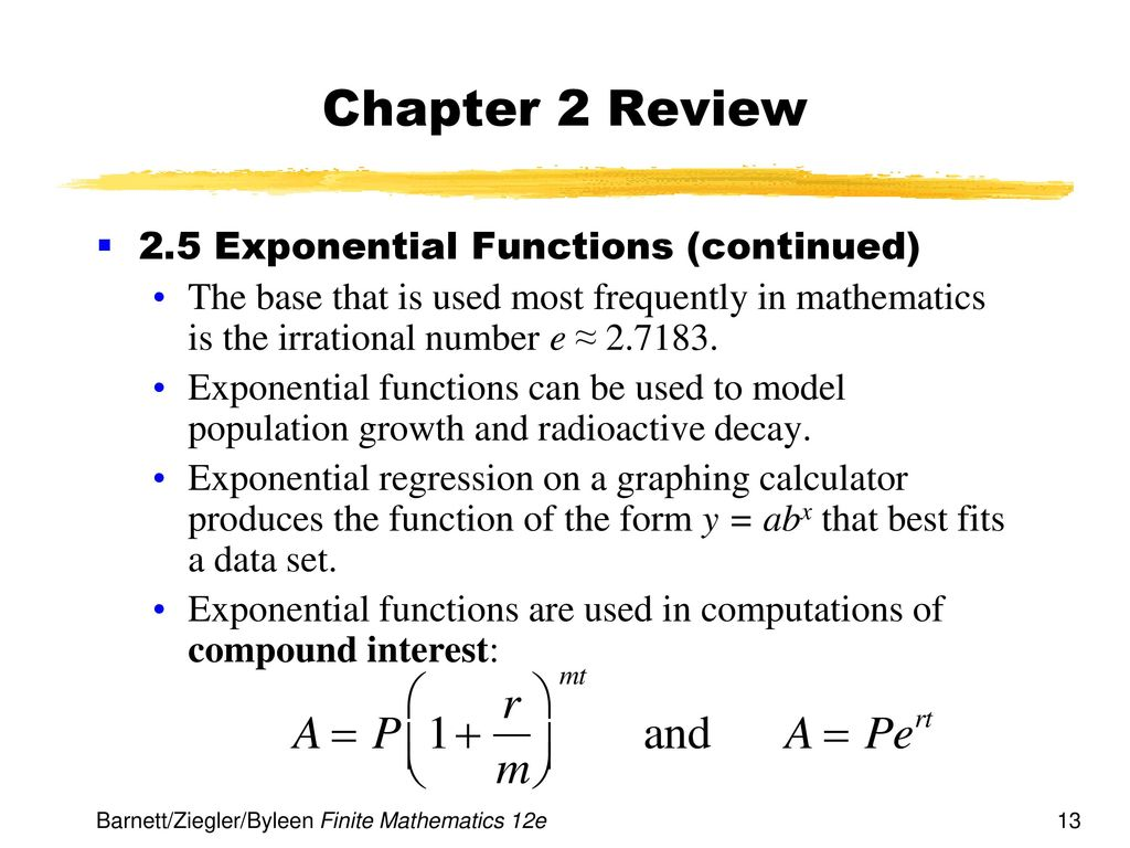 Chapter 2 functions and graphs ppt download chapter 2 review 25 exponential functions continued falaconquin