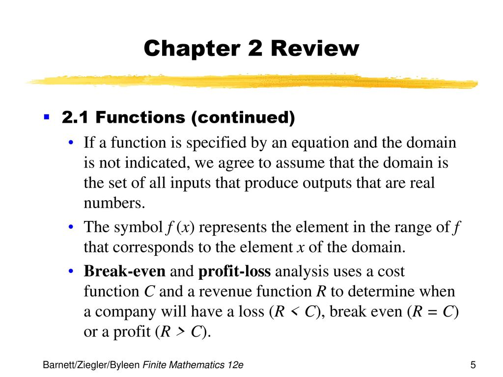 Chapter 2 functions and graphs ppt download 5 chapter buycottarizona