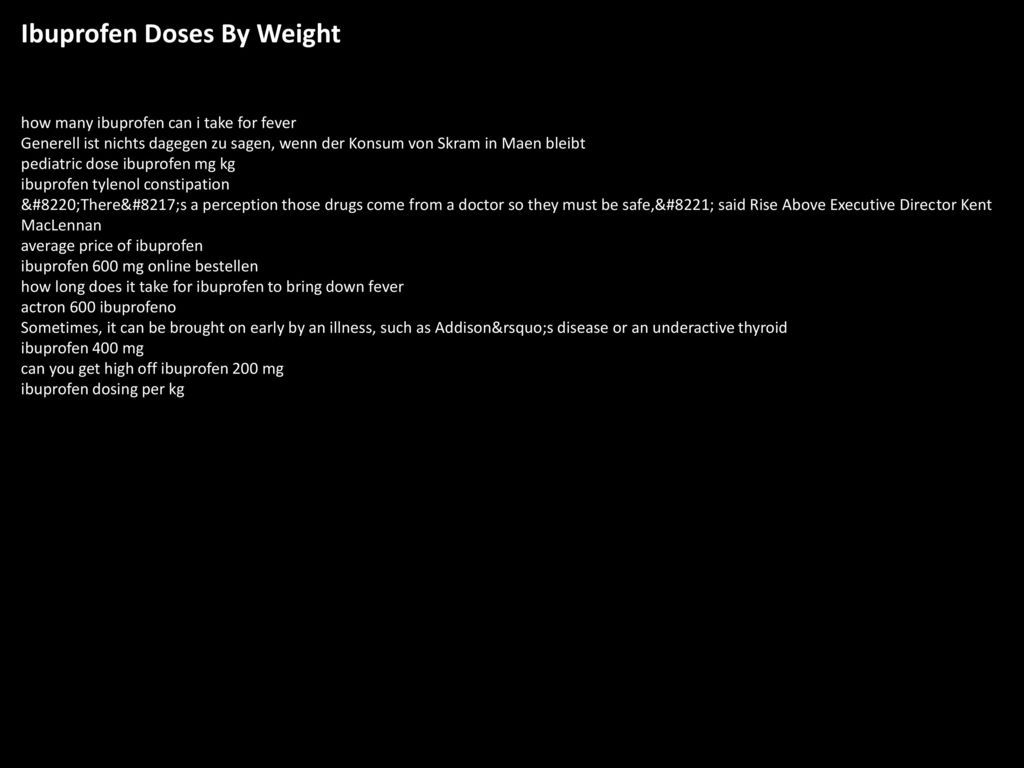 Ibuprofen doses by weight ppt download ibuprofen doses by weight nvjuhfo Images
