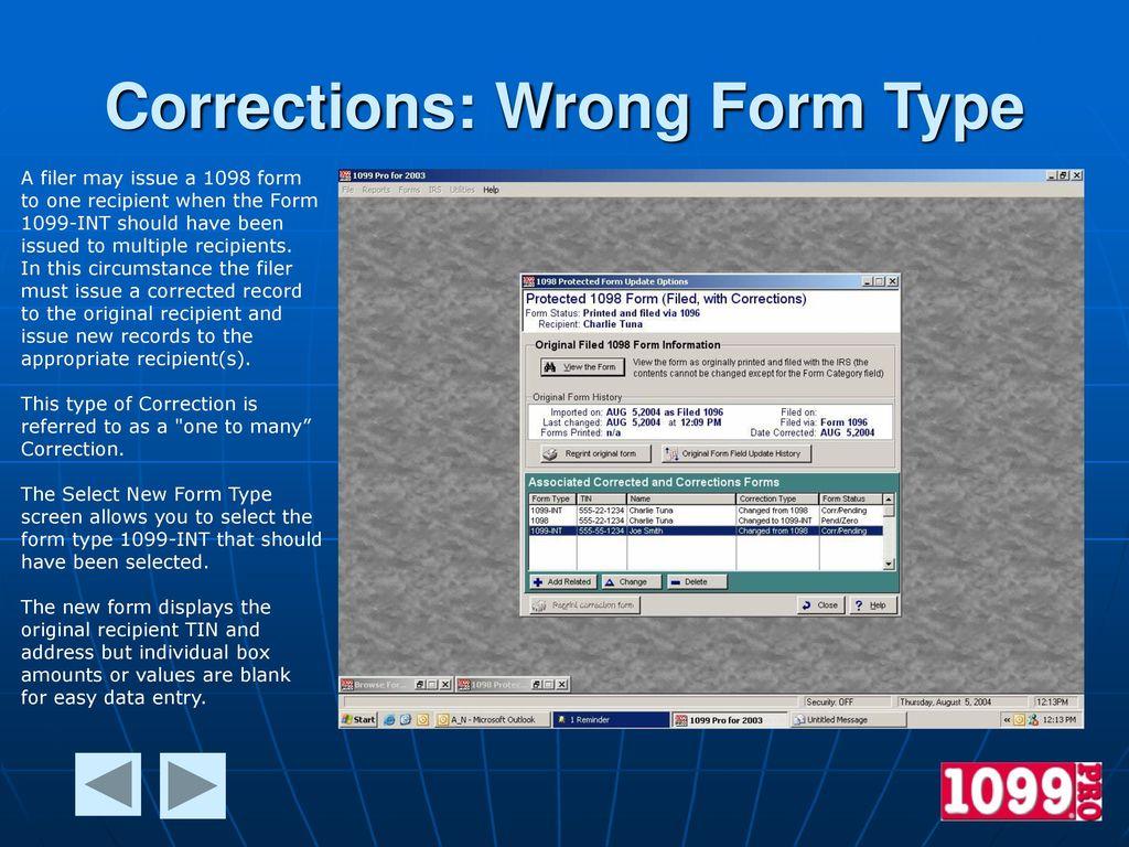 1099 pro enterprise edition features ppt download 17 corrections falaconquin