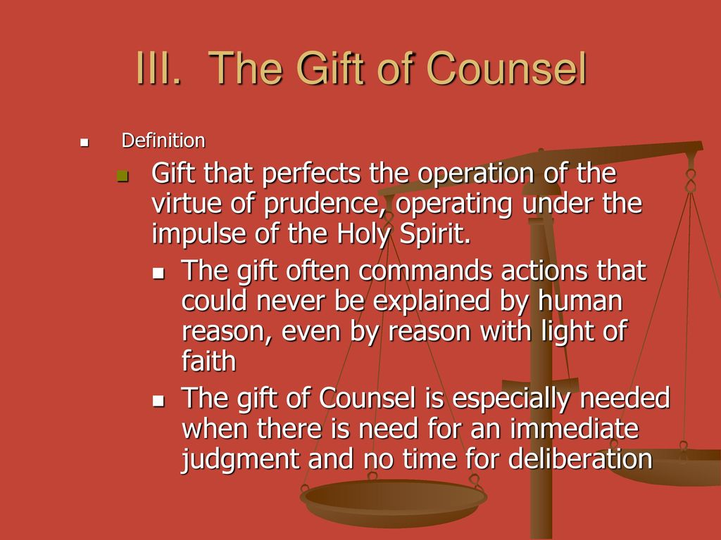 The Virtue of Prudence and Justice - ppt download