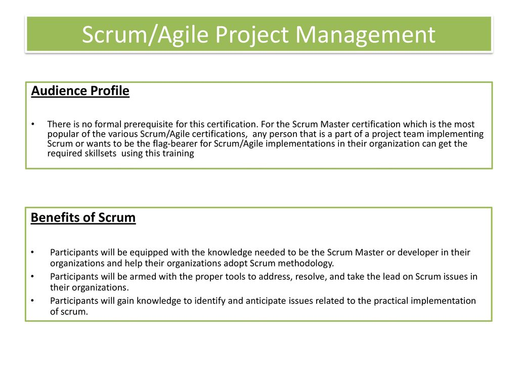 Topics covered overview and benefits learning experience ppt scrumagile project management 1betcityfo Image collections