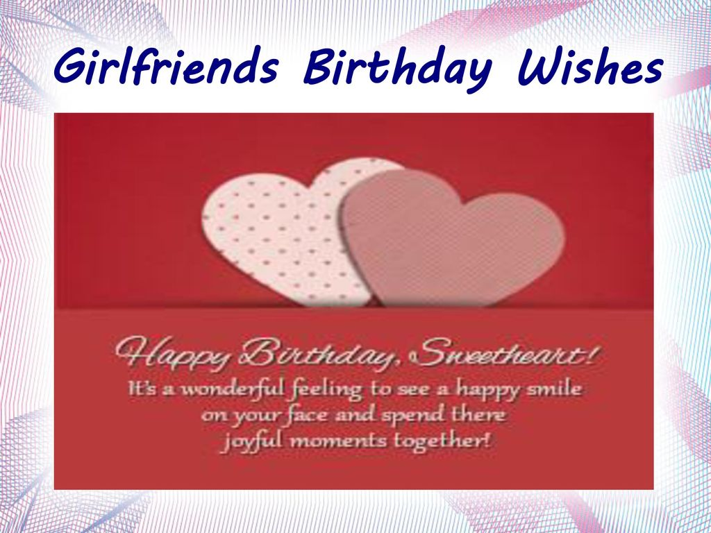 Happy birthday wishes title ppt download 8 girlfriends birthday wishes kristyandbryce Image collections