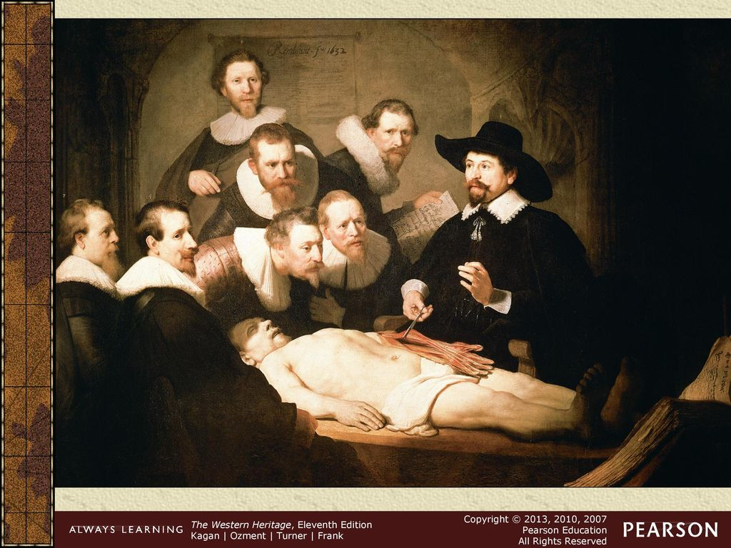 The Anatomy Lesson Of Dr Nicolaes Tulp Gallery - human body anatomy
