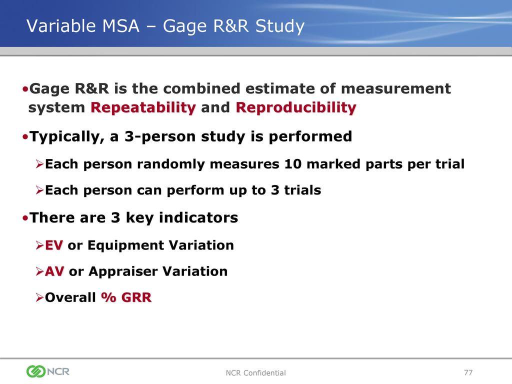 Analytic Method (Gage Studies Attributes) - statvision.com