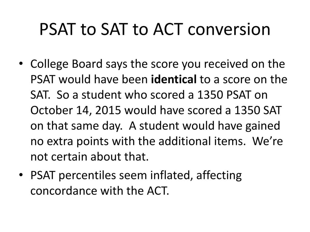 Act sat conversion chart gallery free any chart examples psat score conversion chart choice preschool assistant sample resume navigating the changes to college admissions testing nvjuhfo Choice Image