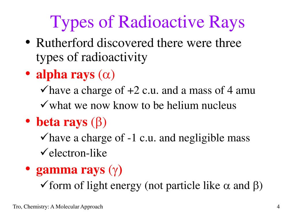 Chapter 19 radioactivity and nuclear chemistry ppt download types of radioactive rays biocorpaavc Gallery