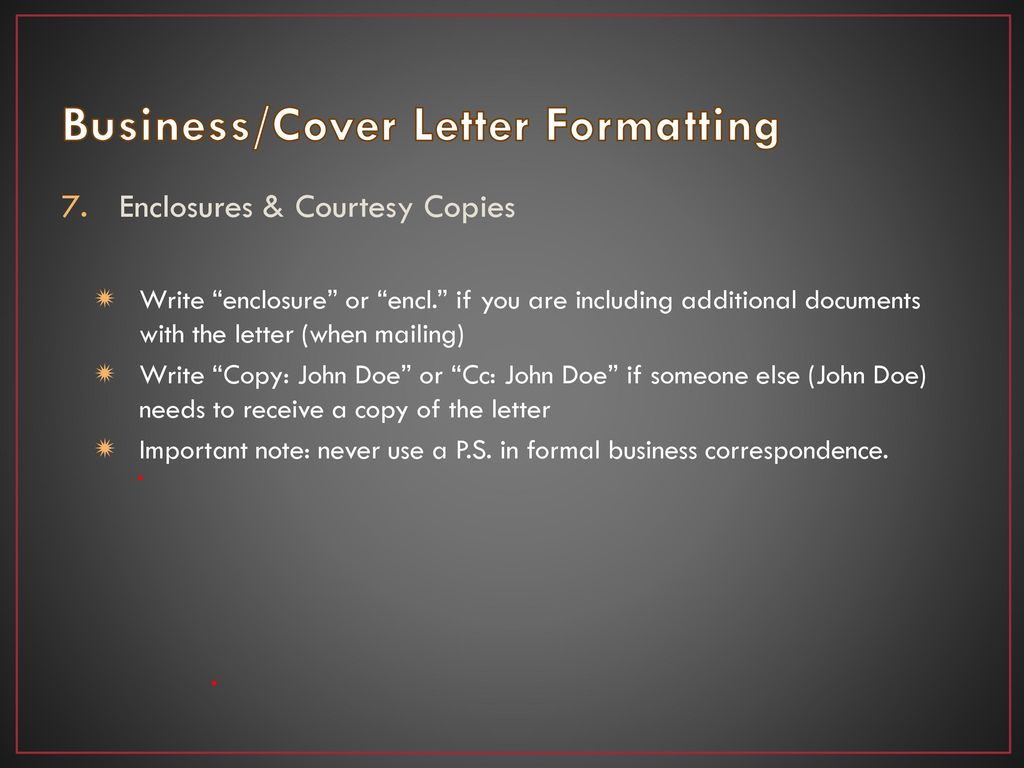 BusinessCover Letter Formatting Professional Writing Proposals BusinessCover