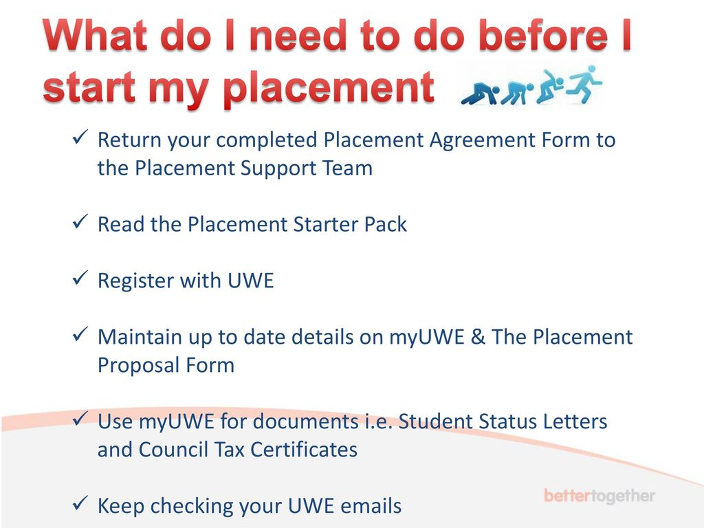 student status letters