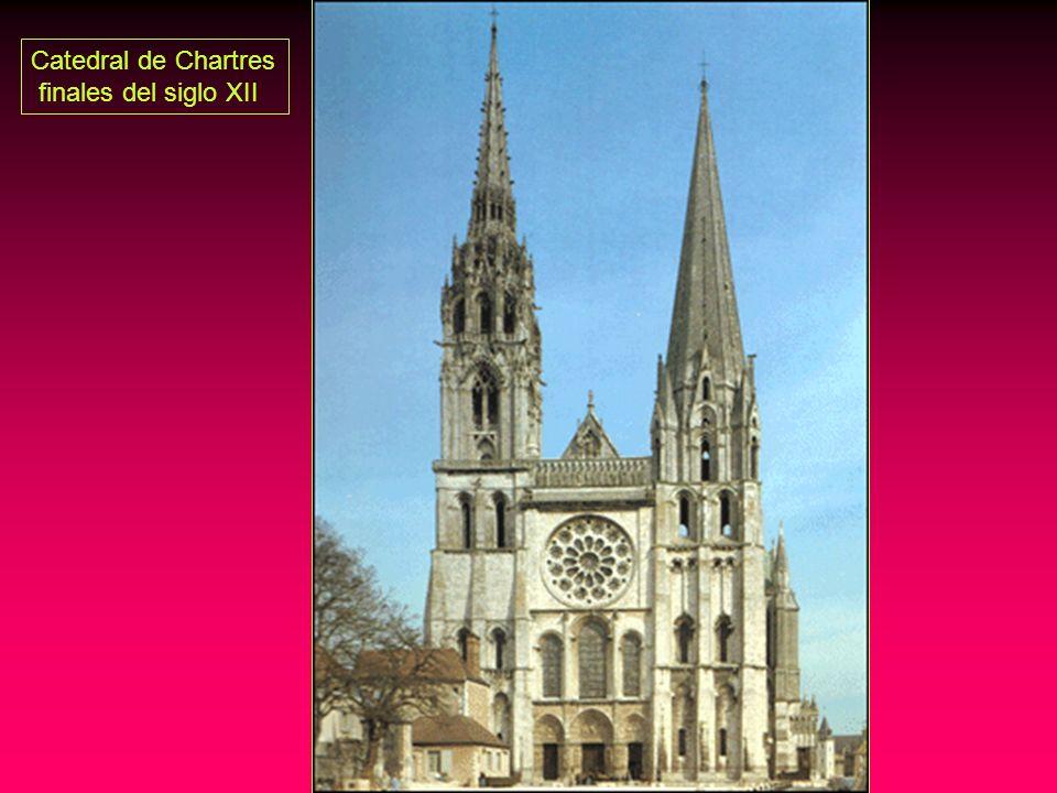 Catedral de Chartres finales del siglo XII
