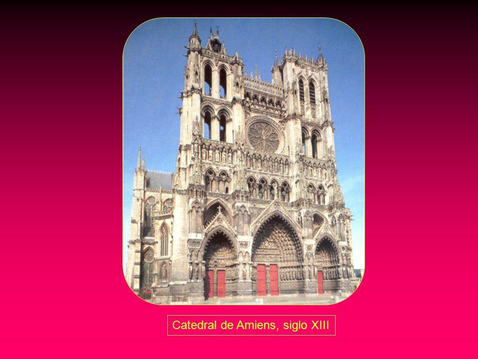 Catedral de Amiens, siglo XIII