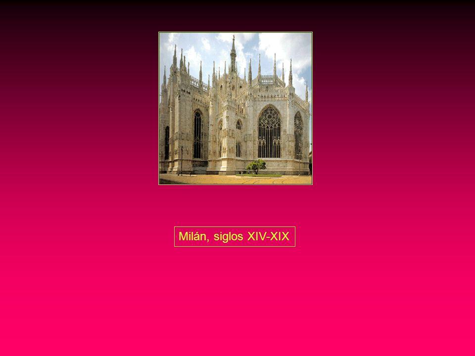 Milán, siglos XIV-XIX
