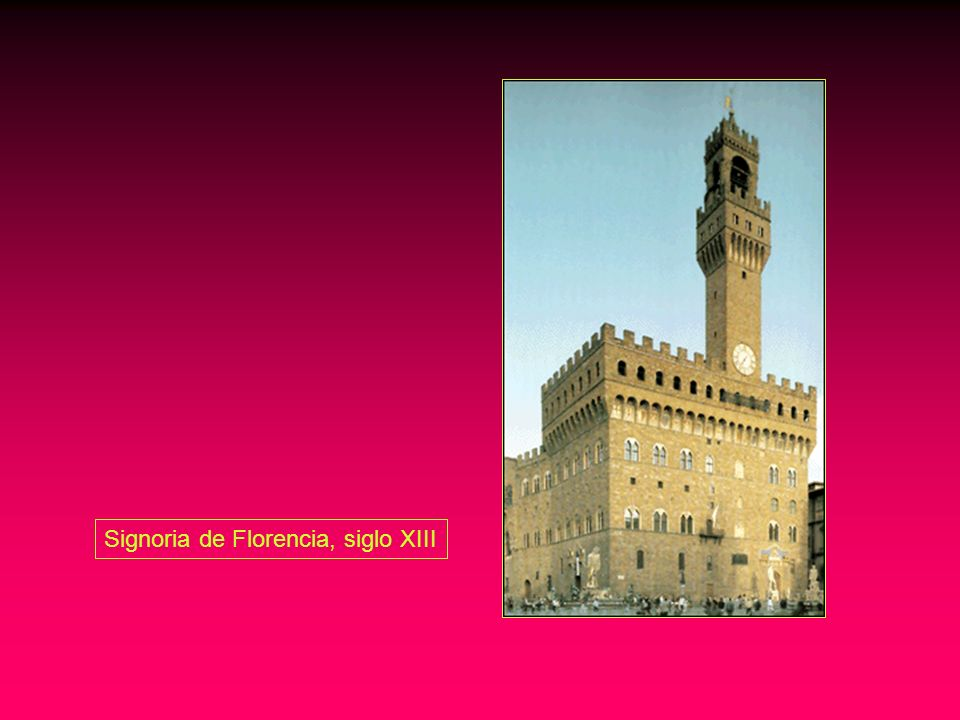 Signoria de Florencia, siglo XIII