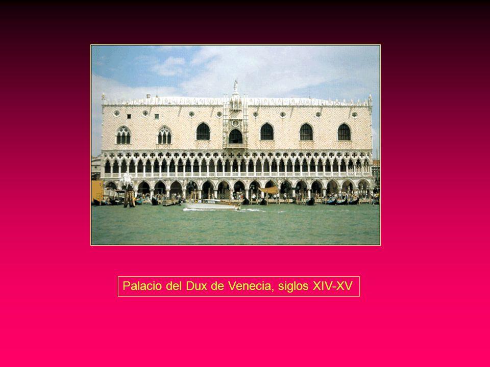 Palacio del Dux de Venecia, siglos XIV-XV