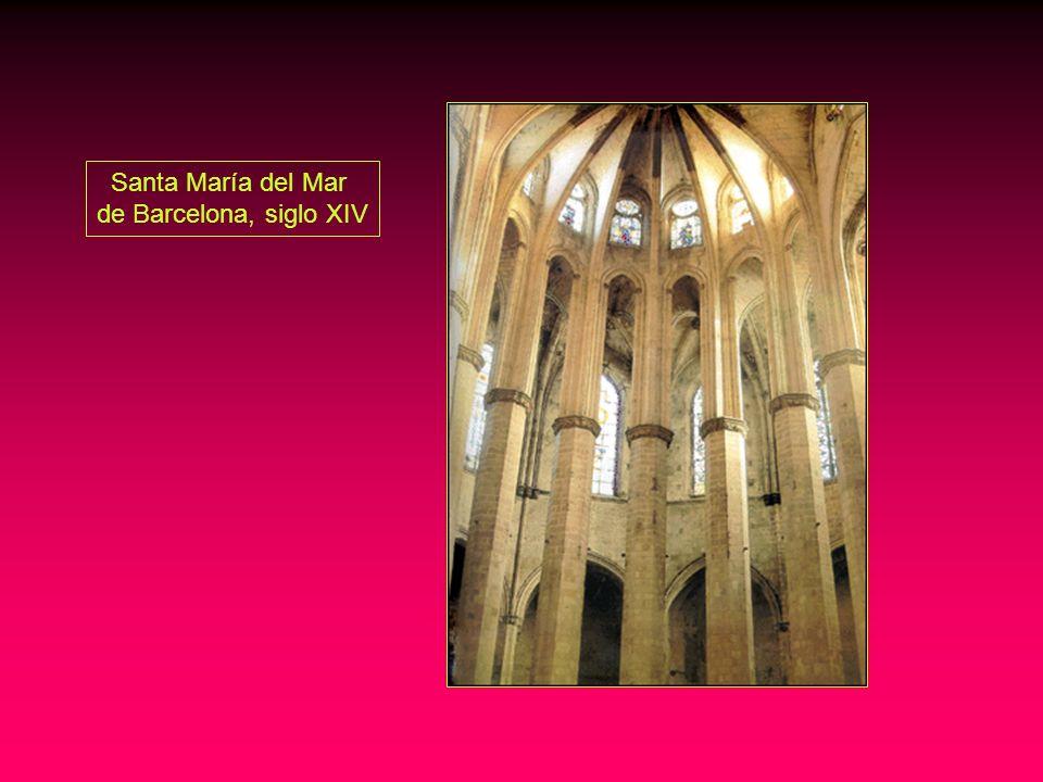 Santa María del Mar de Barcelona, siglo XIV