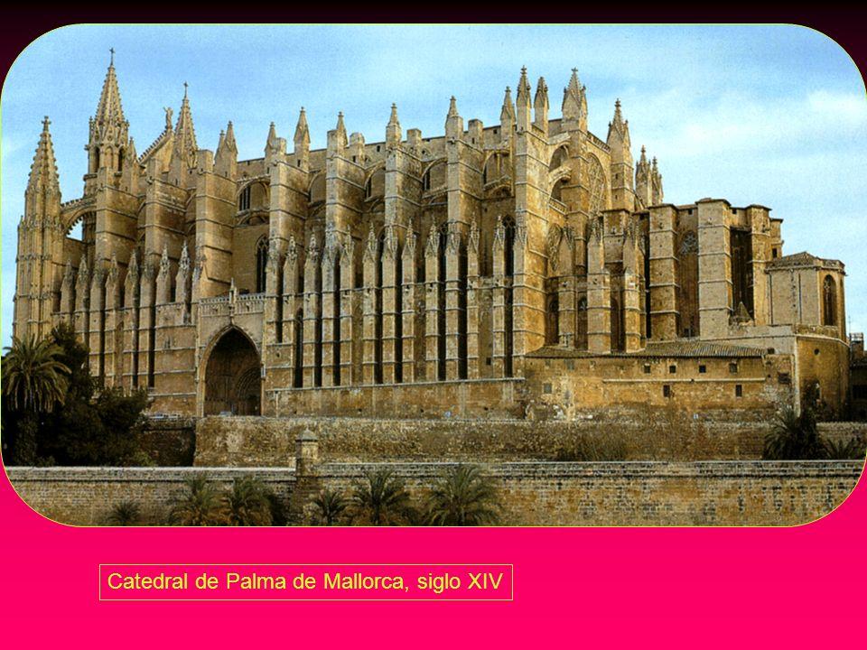 Catedral de Palma de Mallorca, siglo XIV