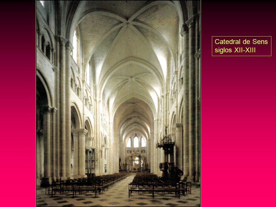 Catedral de Sens siglos XII-XIII