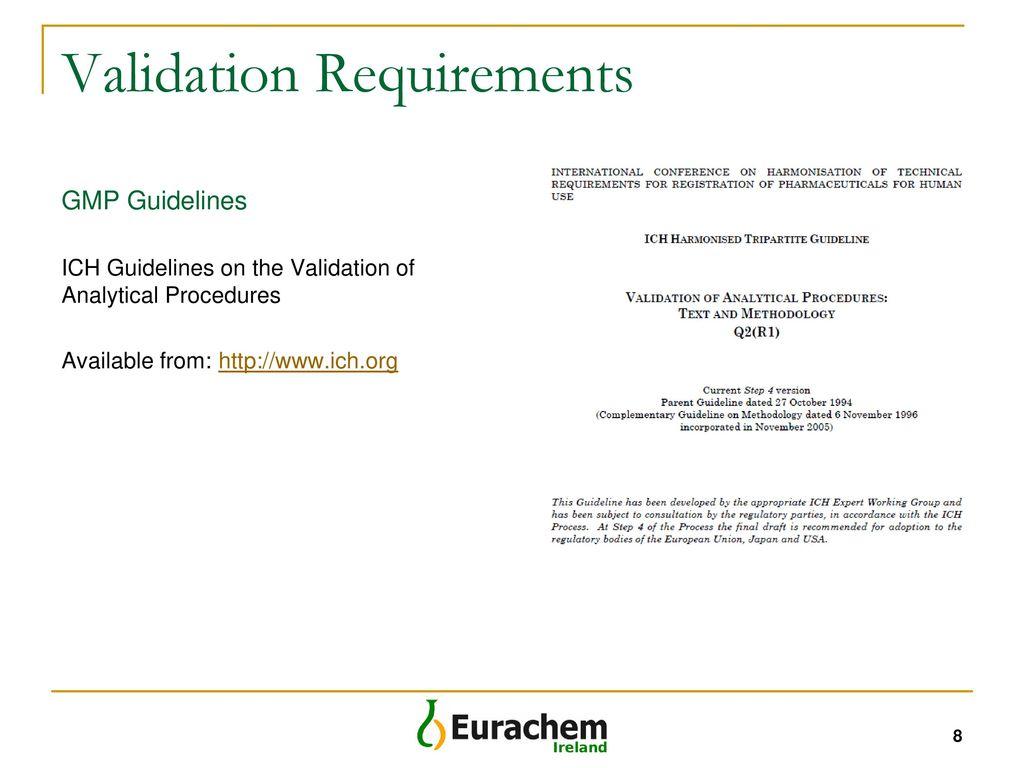 ich validation process