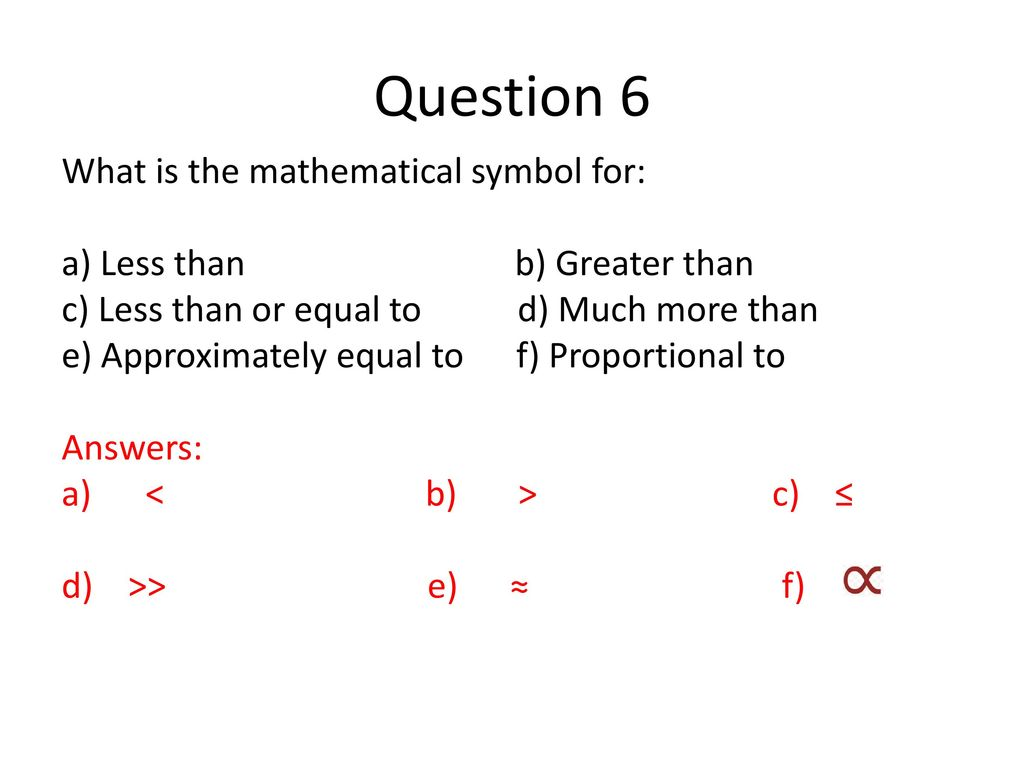 Year 2 research methods beginning of yr2 ppt download question 6 what is the mathematical symbol for biocorpaavc