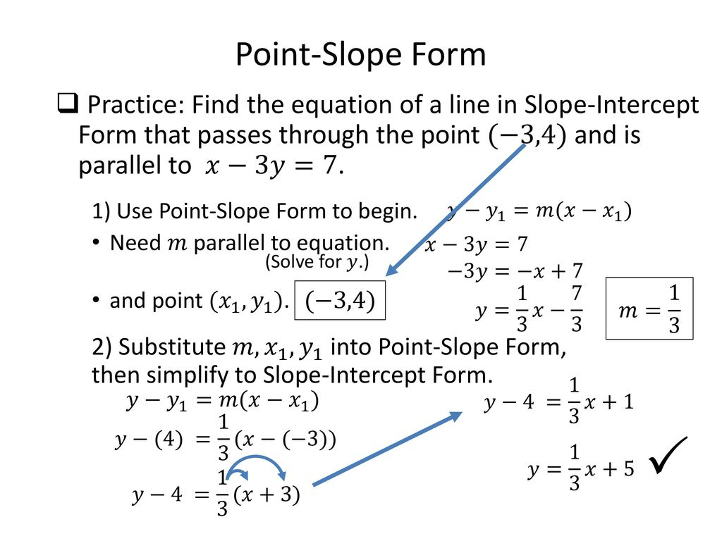 Math 0322 intermediate algebra unit 4 ppt download 16 point slope falaconquin