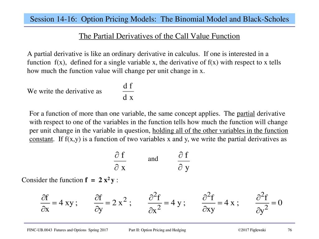 derivatives properties of option Options, futures, and other derivatives by john c hull bridges the gap between theory and  properties of stock options (9), trading strategies involving options .