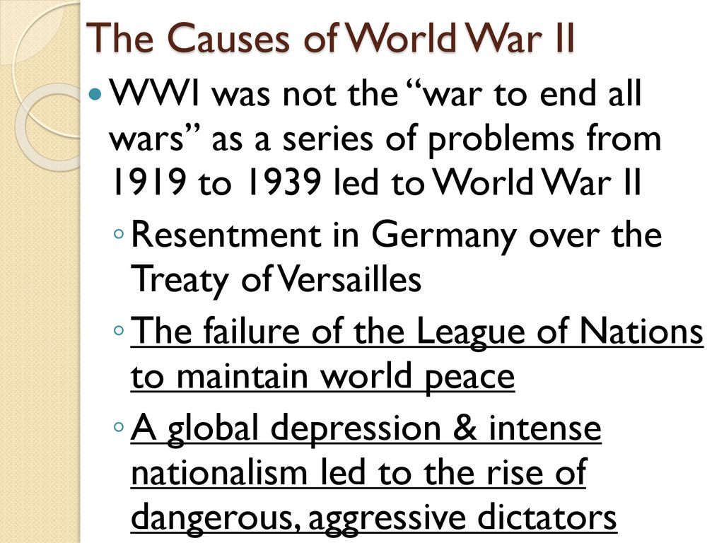the treaty of versailles that ended world war ii Rather than solve europe's problems the versailles treaty perpetuated them   even though, idealistically, it sounds marvelous to end all empires,  instead  they left europe to its own devices – which turned in world war two after a break  of.