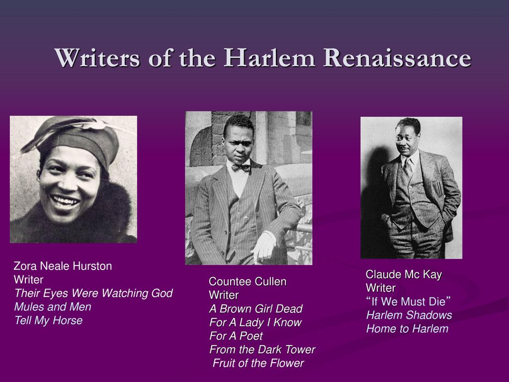 the literature of the harlem renaissance essay Free essay: the harlem renaissance, jazz and billie holiday in harlem, the people sit on their front porches in protest of the summer sunday sun, fanning.