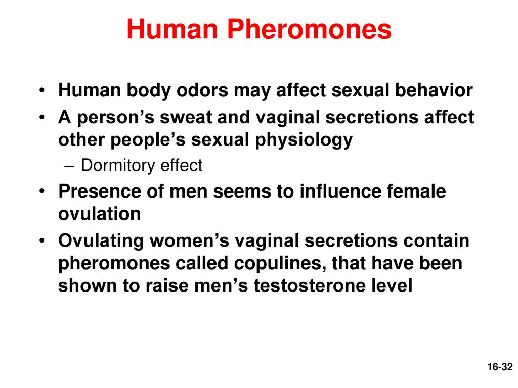 sex affects body