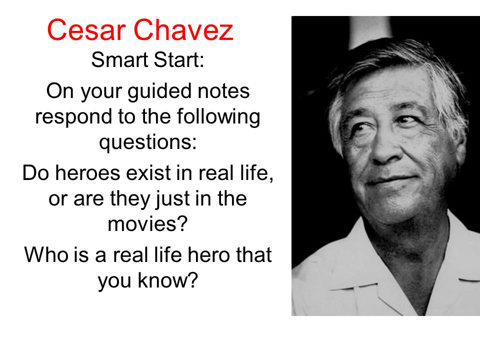 Cesar Chavez Smart Start:
