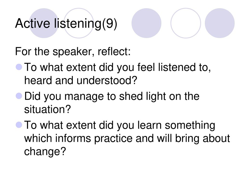 PPT - Active Listening Skills PowerPoint Presentation - ID ...