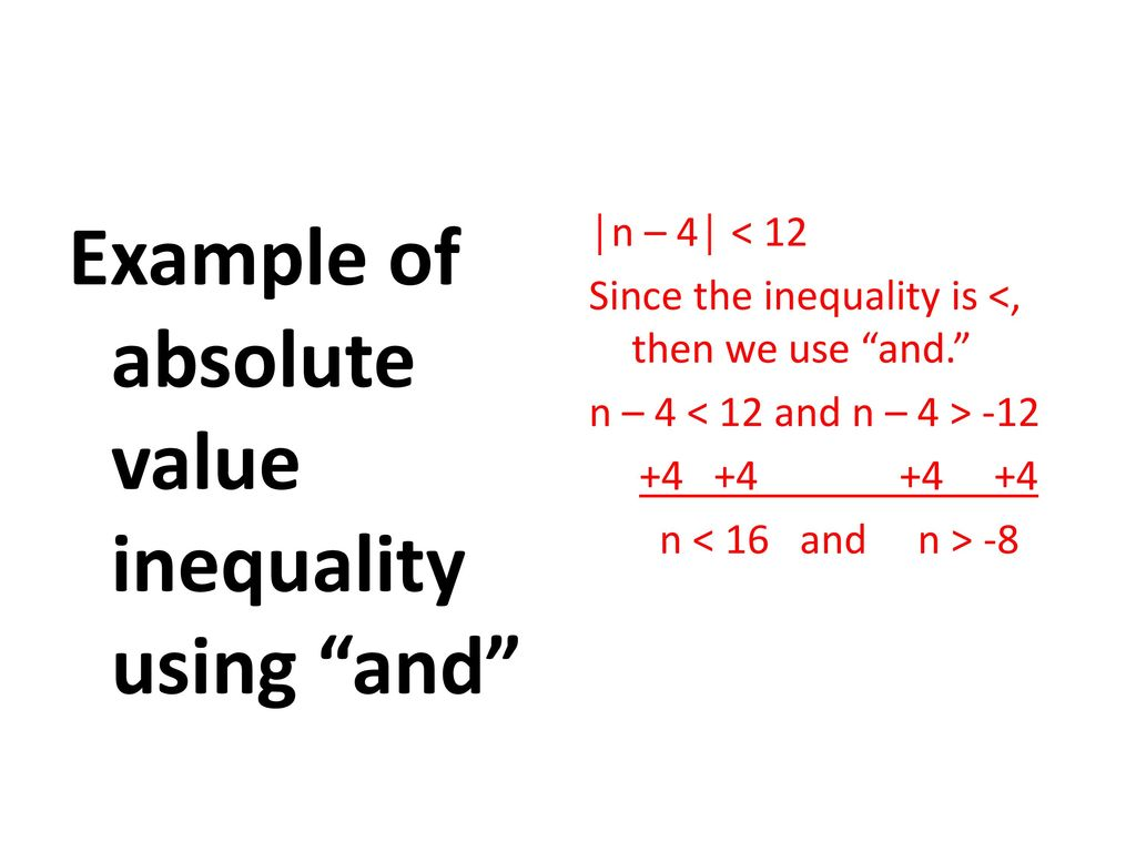 Solving And Graphing Absolute Value Inequalities Ppt Download