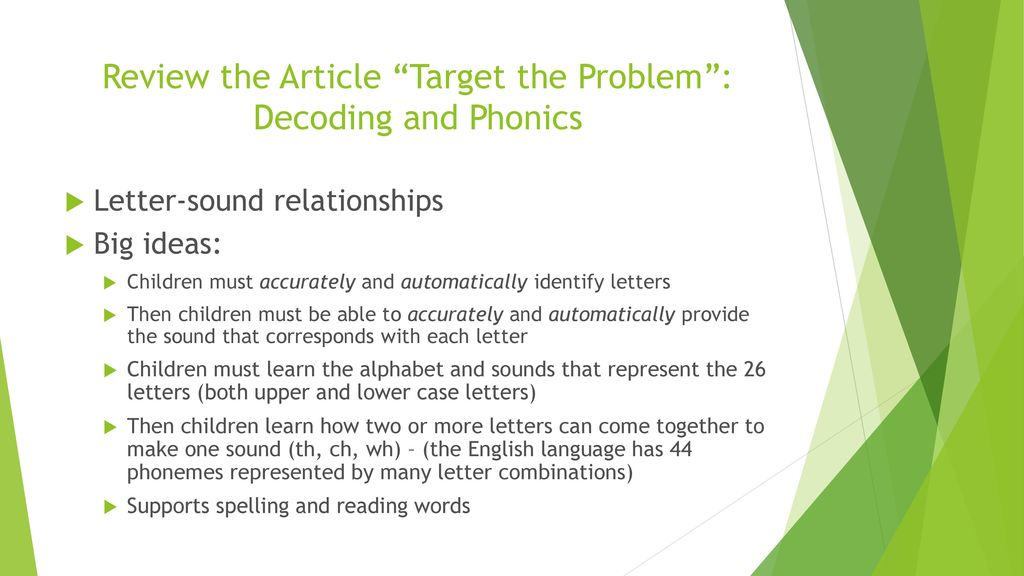 Is systematic synthetic phonics enough?... (PDF Download Available)