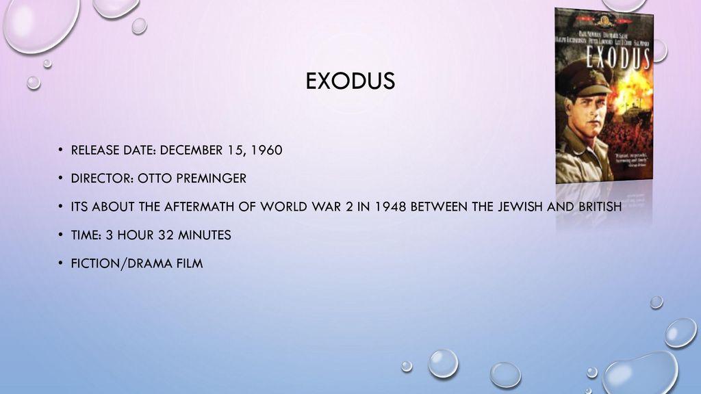 exodus film 1960