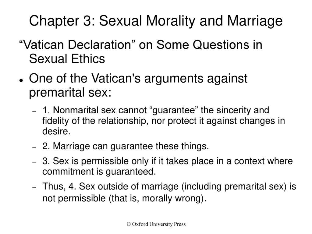 issues of sexual morality and essay Sexual ethics essay sexual morality: the purpose of this paper is to cover these issues of sexual purity and holiness brought up by paul in 1.