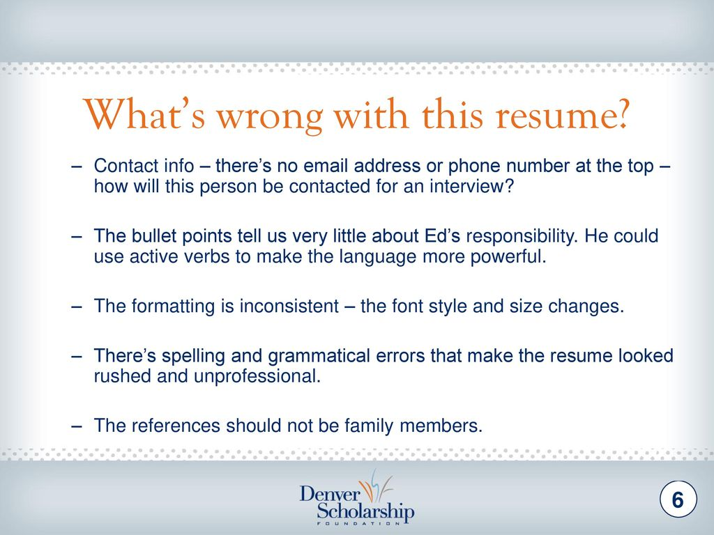 resume Unprofessional Resume why its time to update or write your resume ppt download strengthen the resume