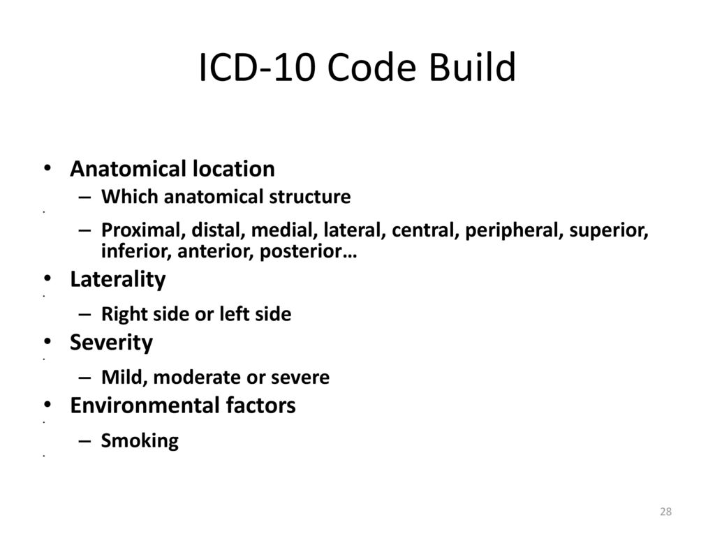 Exles Of Icd 10 Cm Codes Without 9 Equivalents