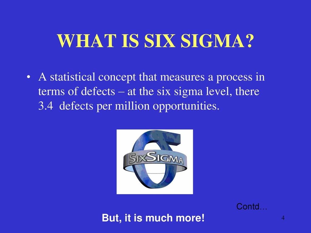 Six sigma delivering tomorrows performance today ppt download what is six sigma buycottarizona Choice Image