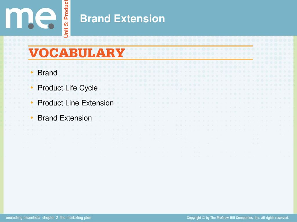 Brand Extension. - ppt download