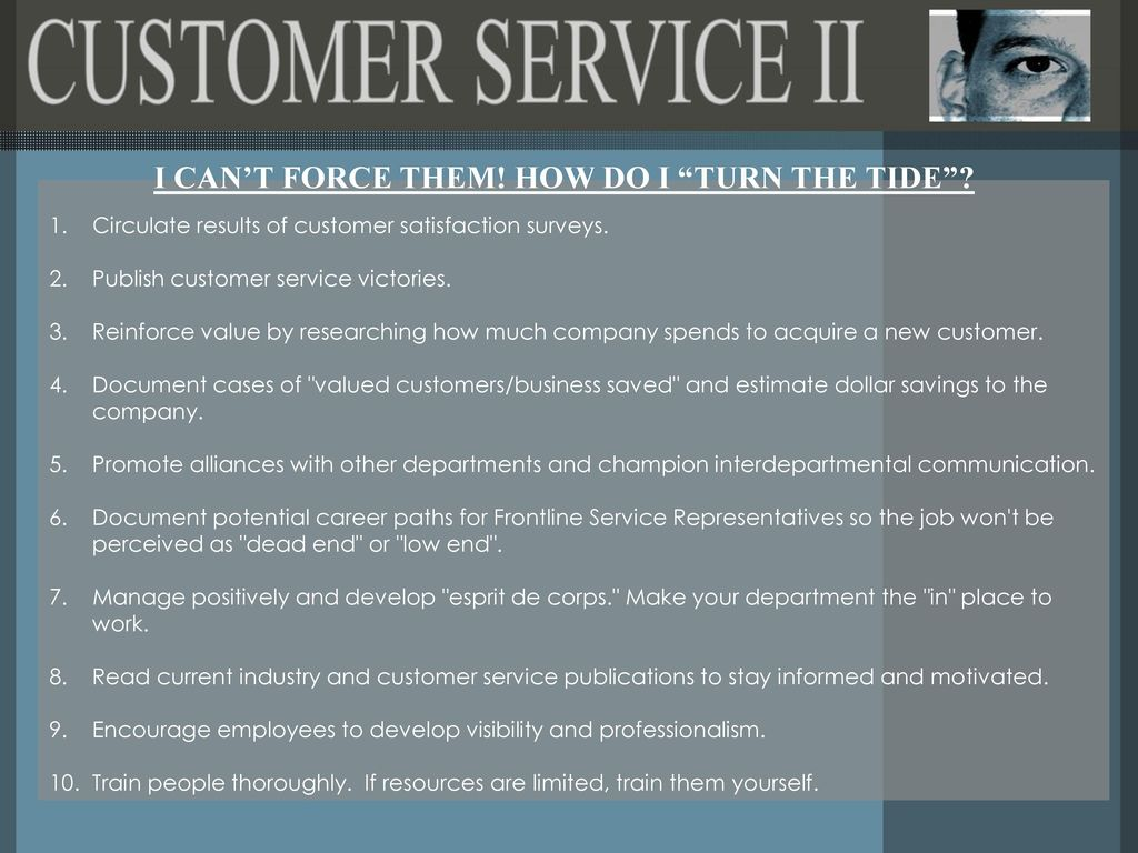 when does customer service end
