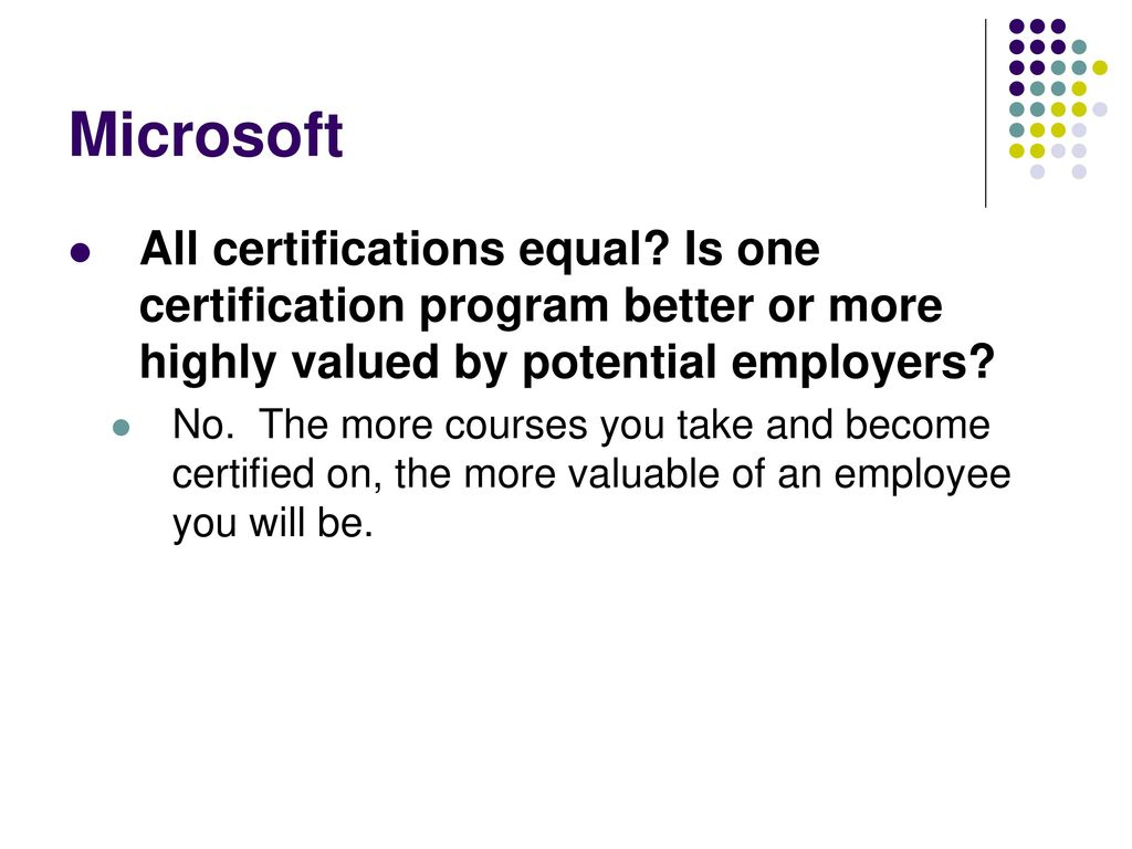 Association for women in computing it certifications that matter 23 microsoft all certifications 1betcityfo Images