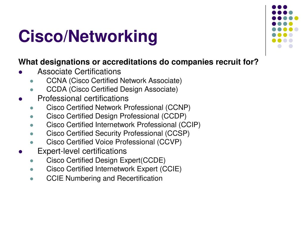 Association for women in computing it certifications that matter cisconetworking what designations or accreditations do companies recruit for associate certifications 1betcityfo Choice Image