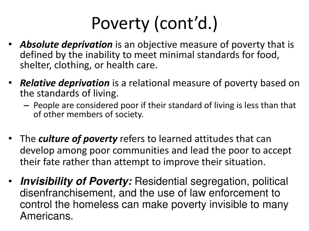 Social class the structure of inequality ppt download 26 poverty buycottarizona Image collections